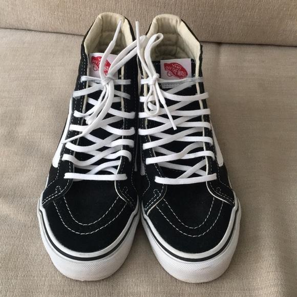 6857e0ed129 Vans Shoes - Women s Vans Sk8-Hi Lace-up Hightop Skate Shoes